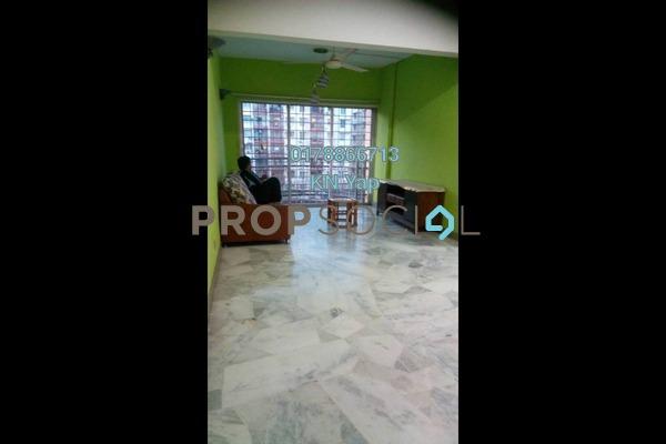 For Rent Apartment at Taman Abadi Indah, Taman Desa Freehold Semi Furnished 3R/2B 1.4k
