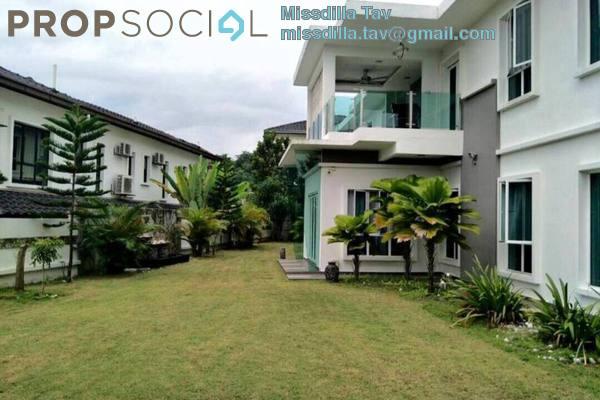 For Sale Bungalow at Saujana Villa, Kajang Freehold Semi Furnished 7R/7B 2.39m