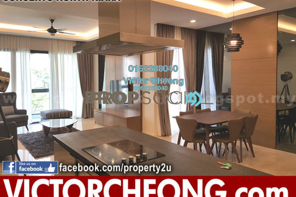 For Rent Condominium at Concerto Kiara, Dutamas Freehold Fully Furnished 3R/3B 4.5k