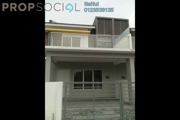 For Rent Terrace at Taman Salak Impian, Bandar Baru Salak Tinggi Freehold Unfurnished 4R/3B 1.5k