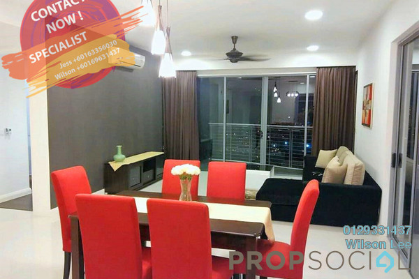 For Sale Condominium at The Westside Two, Desa ParkCity Freehold Fully Furnished 3R/3B 1.45m
