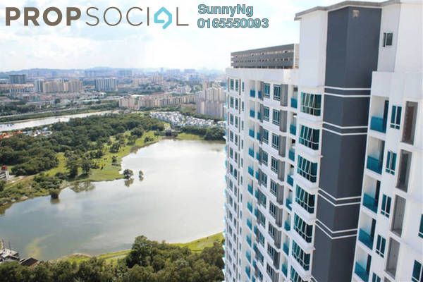 For Sale Condominium at Desa Green Serviced Apartment, Taman Desa Freehold Fully Furnished 2R/2B 650k