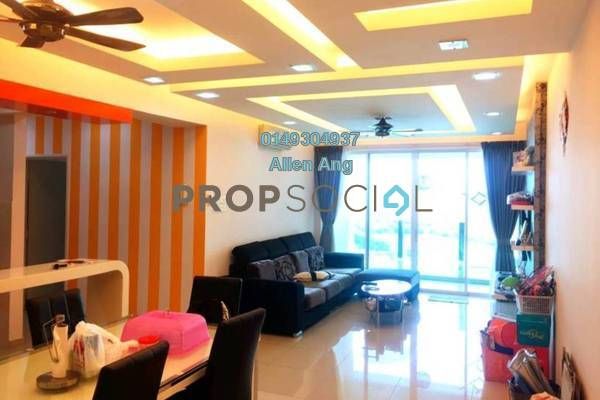 For Sale Condominium at The Zest, Bandar Kinrara Freehold Fully Furnished 6R/2B 618k