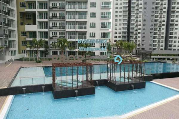 For Sale Condominium at Tropicana Bay Residences, Bayan Indah Freehold Unfurnished 3R/2B 810k