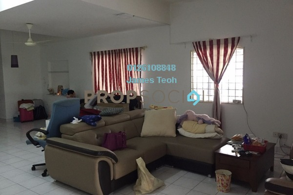 For Sale Terrace at Taman Bukit Permai, Cheras Freehold Semi Furnished 5R/3B 800k