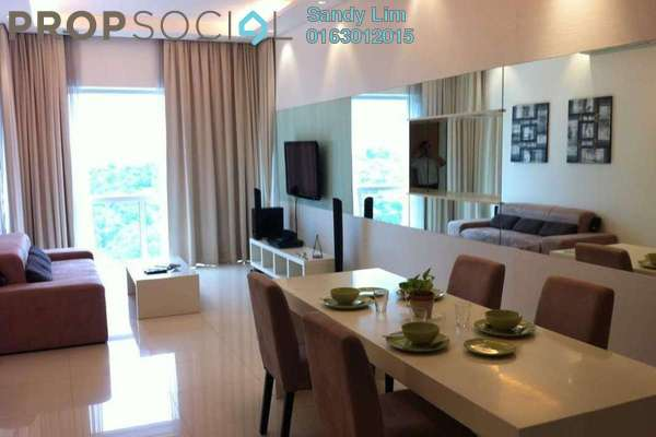 For Rent Condominium at Suasana Sentral Loft, KL Sentral Freehold Fully Furnished 1R/1B 4k