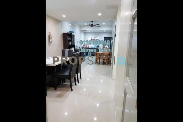 For Sale Terrace at Taman Meru, Klang Freehold Semi Furnished 3R/2B 350k