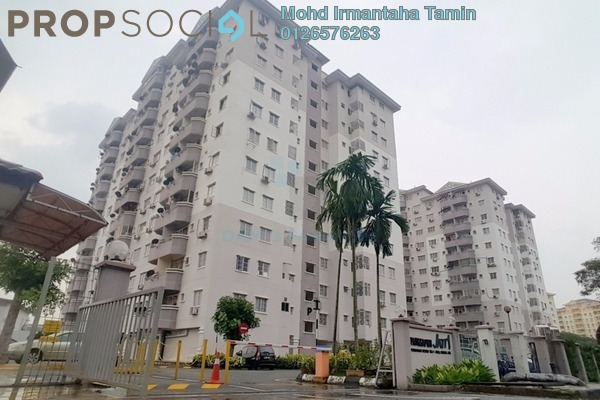 For Sale Apartment at Jati 1 Apartment, Subang Jaya Leasehold Unfurnished 3R/2B 330k