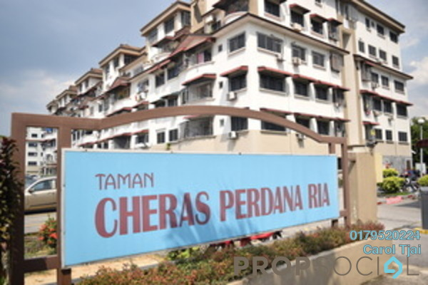 For Rent Apartment at Cheras Perdana, Cheras South Freehold Semi Furnished 3R/2B 1.3k