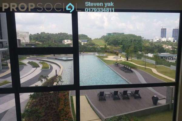 For Rent Condominium at Hyve, Cyberjaya Freehold Semi Furnished 2R/1B 1.4k