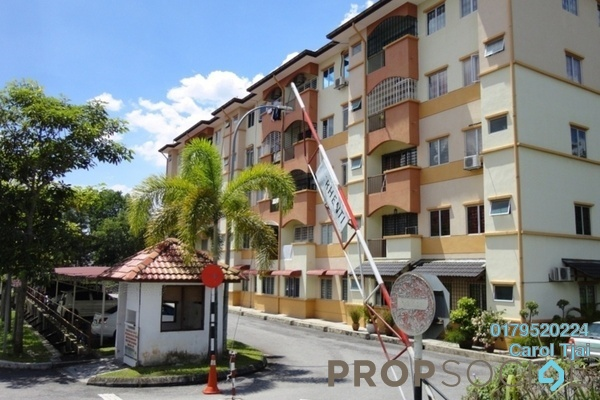 For Rent Apartment at Taman Cheras Intan, Batu 9 Cheras Freehold Fully Furnished 3R/2B 900translationmissing:en.pricing.unit