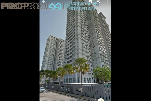 For Sale Condominium at BaysWater, Gelugor Freehold Semi Furnished 3R/2B 960k