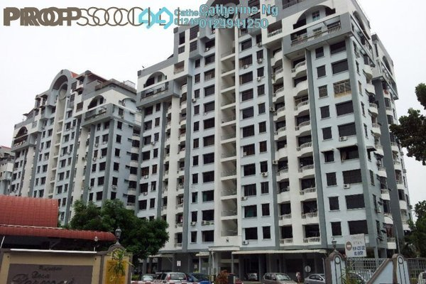 For Sale Apartment at Desa Permai Indah, Sungai Dua Freehold Fully Furnished 3R/2B 390k