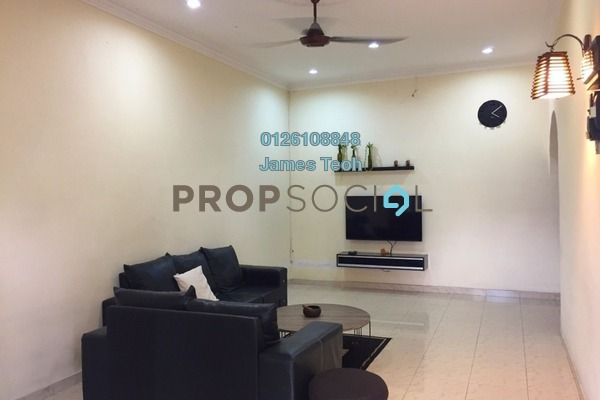 For Sale Terrace at Taman Maznah, Klang Freehold Semi Furnished 3R/2B 338k