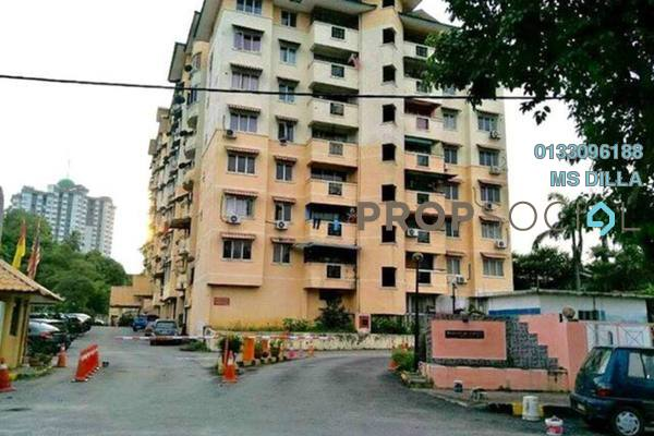 For Sale Apartment at Bukit Kuda Apartment, Klang Freehold Unfurnished 3R/2B 189k