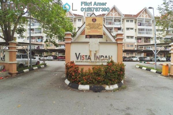 For Sale Apartment at Vista Indah Putra, Klang Freehold Unfurnished 3R/2B 275k
