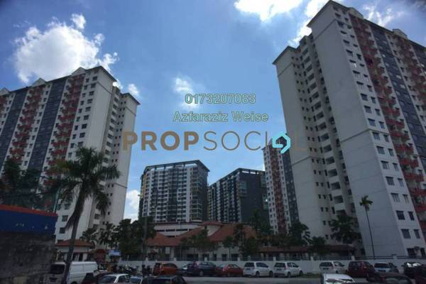 For Sale Apartment at Vista Pinggiran, Bandar Putra Permai Freehold Unfurnished 3R/2B 290k