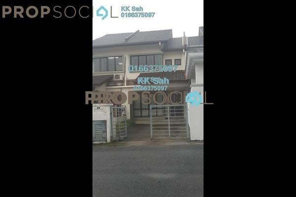 For Sale Link at Section 2, Bandar Mahkota Cheras Freehold Semi Furnished 4R/3B 538k