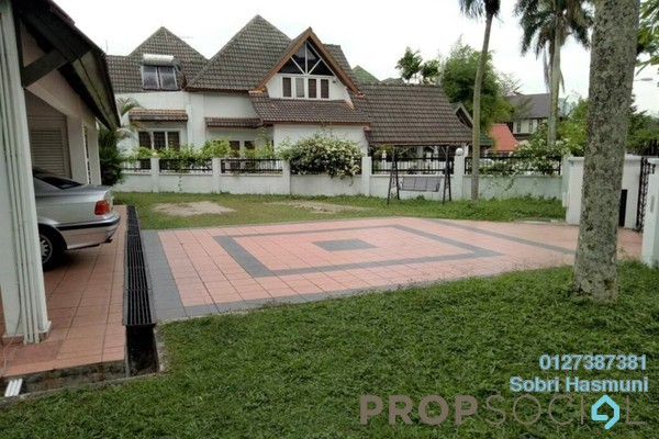 For Rent Bungalow at Taman TAR, Ampang Freehold Semi Furnished 4R/4B 5.5k