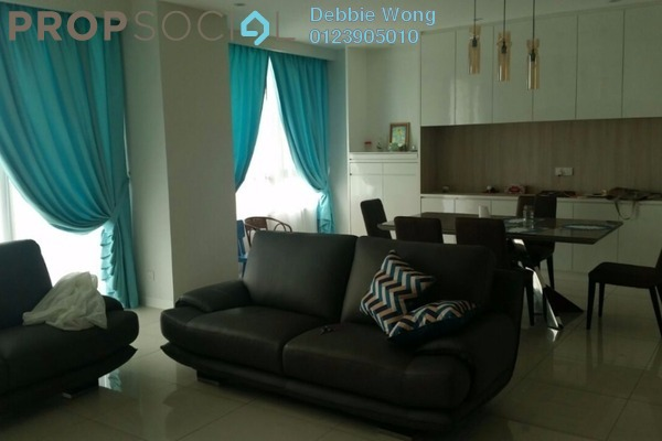 For Sale Condominium at Verdana, Dutamas Freehold Semi Furnished 4R/4B 1.35m