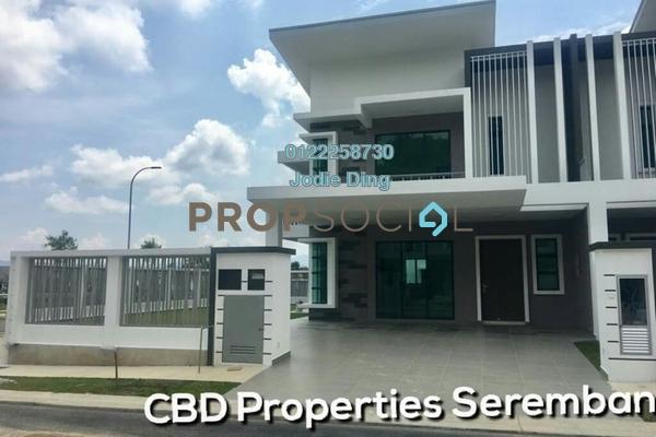 For Sale Superlink at Forest Heights, Seremban Freehold Unfurnished 4R/4B 514k