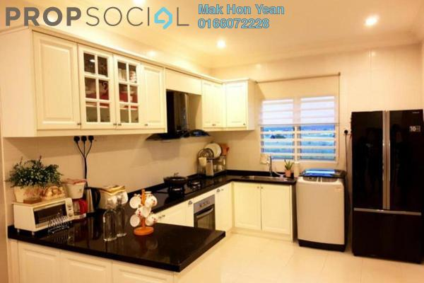 For Sale Townhouse at The Lake Residence, Puchong Freehold Semi Furnished 3R/2B 438k
