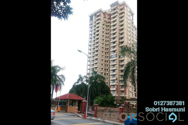 For Rent Condominium at Gurney Heights, Keramat Freehold Semi Furnished 3R/2B 2.1k