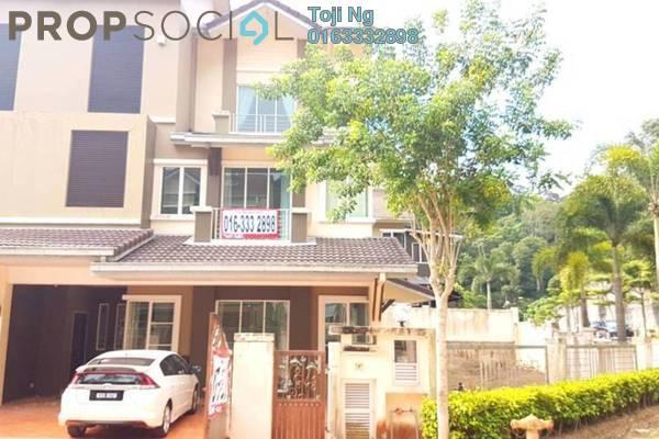 For Rent Semi-Detached at Hijauan Residence, Batu 9 Cheras Freehold Semi Furnished 5R/5B 3.8k