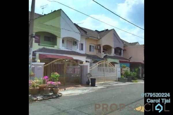 For Rent Terrace at Taman Puchong Intan, Puchong Freehold Semi Furnished 4R/3B 1.3k