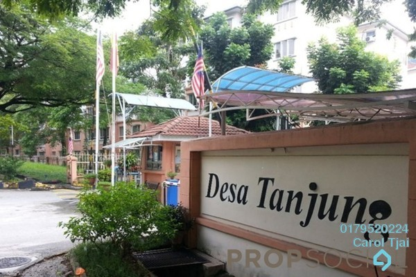 For Rent Apartment at Desa Tanjung Apartment, Bandar Puteri Puchong Freehold Fully Furnished 3R/2B 1.3k