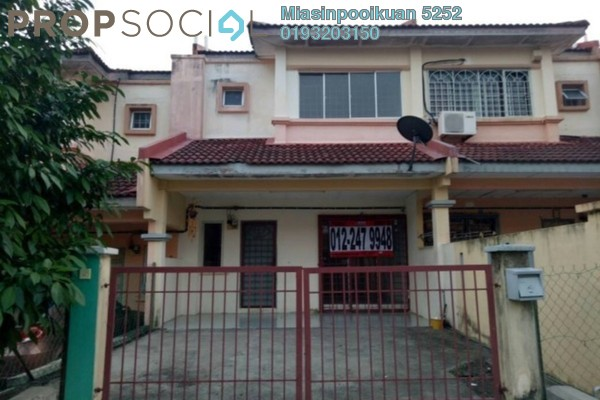 For Sale Terrace at Double Green Residence, Ipoh Freehold Semi Furnished 4R/3B 408k