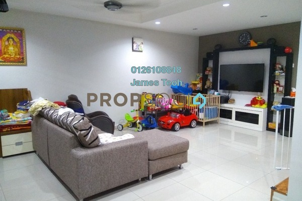 For Sale Terrace at Mahkota Walk, Bandar Mahkota Cheras Freehold Semi Furnished 4R/3B 628k