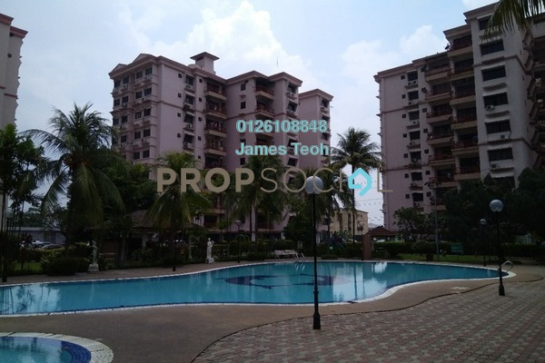 For Sale Condominium at Taman Sri Manja, PJ South Freehold Semi Furnished 4R/2B 500k
