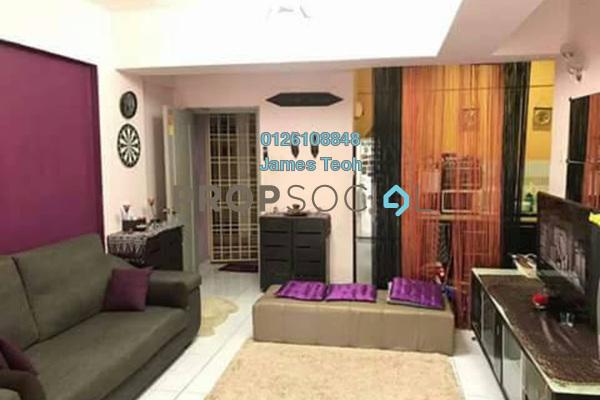 For Sale Condominium at Sri Hijau, Bandar Mahkota Cheras Freehold Semi Furnished 3R/2B 288k