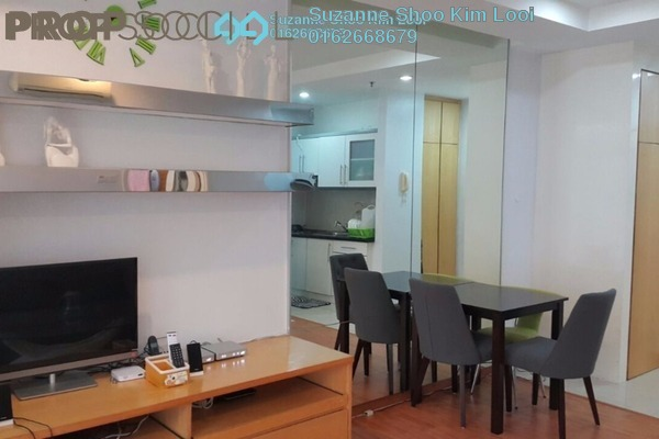For Rent Apartment at Park View, KLCC Freehold Fully Furnished 1R/1B 2.4k