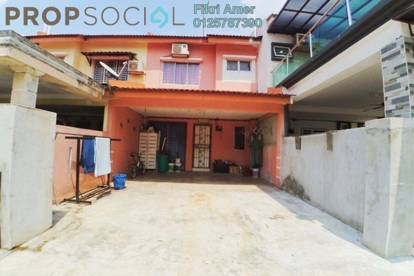 For Sale Terrace at SP 6, Bandar Saujana Putra Leasehold Semi Furnished 4R/3B 390k