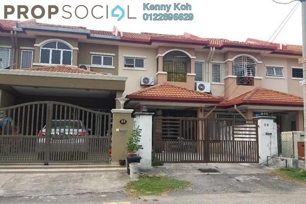 For Sale Terrace at Taman Lestari Putra, Bandar Putra Permai Freehold Semi Furnished 4R/3B 480k