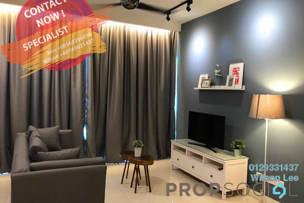 For Rent Condominium at One Central Park, Desa ParkCity Freehold Fully Furnished 2R/1B 4.2k
