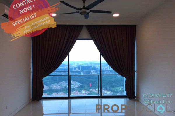 For Rent Condominium at One Central Park, Desa ParkCity Freehold Semi Furnished 3R/2B 4.2k