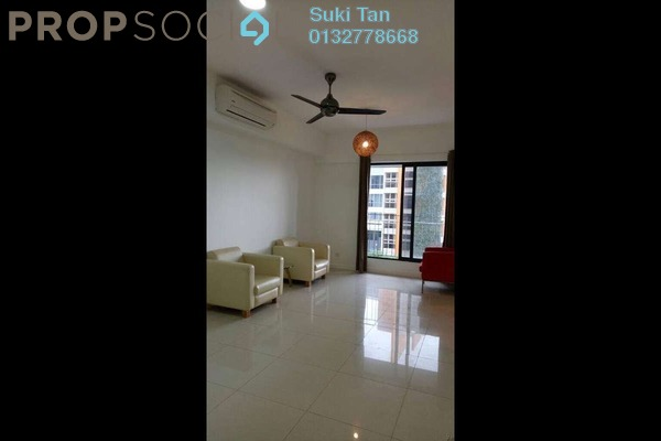 For Rent Serviced Residence at Azelia Residence, Bandar Sri Damansara Freehold Semi Furnished 0R/1B 1.6k