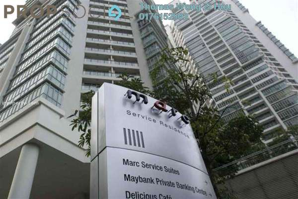 For Sale Serviced Residence at Marc Service Residence, KLCC Freehold Fully Furnished 2R/2B 1.59m