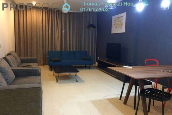 For Sale Condominium at 6 CapSquare, Dang Wangi Freehold Fully Furnished 2R/2B 1.46m