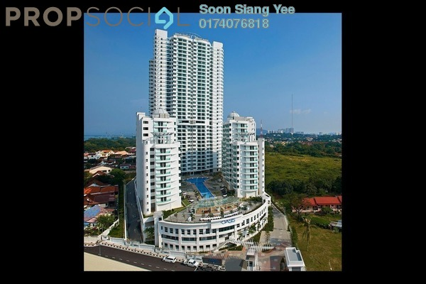 For Sale Condominium at The Oasis, Gelugor Freehold Unfurnished 3R/2B 620k