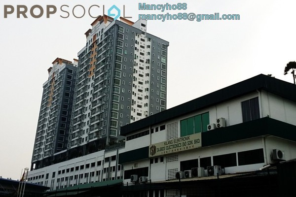 For Sale Condominium at Park 51 Residency, Petaling Jaya Freehold Semi Furnished 3R/2B 525k