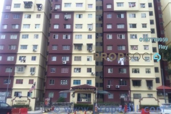 For Rent Apartment at Cemara Apartment, Bandar Sri Permaisuri Freehold Unfurnished 3R/2B 1.2k
