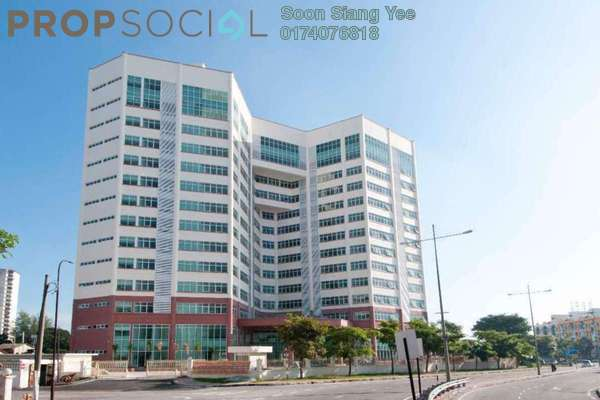 For Sale Office at Hexagon Tech Park , Georgetown Freehold Unfurnished 0R/0B 780k