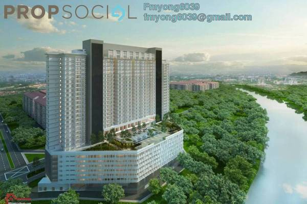 For Sale Condominium at The Edge Residen, Subang Jaya Freehold Semi Furnished 3R/2B 650k