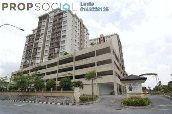 For Sale Condominium at Ampang Prima, Ampang Freehold Semi Furnished 3R/2B 380k