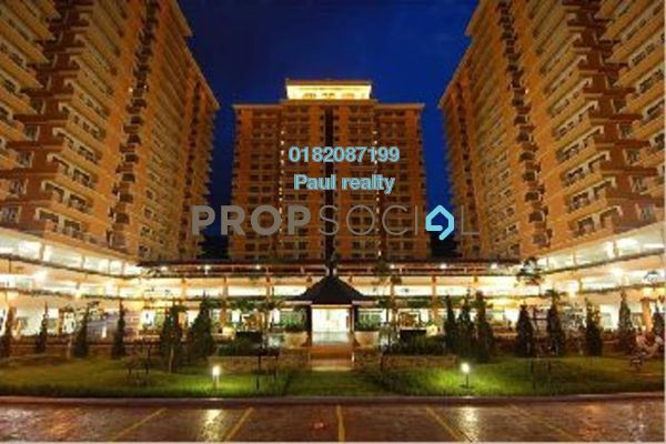 For Rent Condominium at Platinum Hill PV5, Setapak Freehold Semi Furnished 4R/2B 1.8k