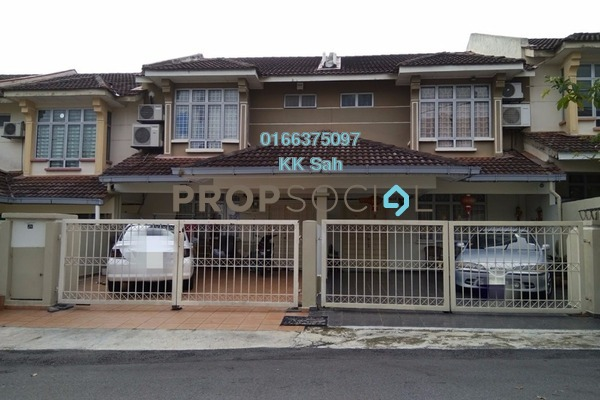 For Sale Link at Seksyen 9, Bandar Mahkota Cheras Freehold Unfurnished 4R/3B 650k